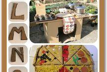 talleres con carton / manualidades hechas con carton