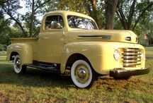 Ford Trucks / by Bruce Singbeil