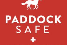 safe paddocks / great tips and products for creating safe paddocks and pastures for you and your horses
