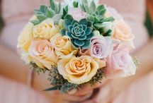 Succulents in flower arrangements