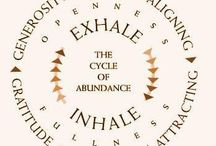 Abundant/Abundance - my word for 2016 and 2017 / Quotes and words of wisdom about abundant living