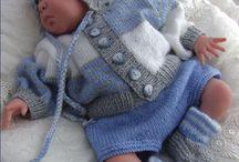 дети в вязаниках