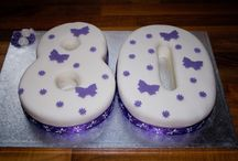 Birthday Cakes / Celebration cake ideas for Mums 89th, Robs 60th and Beccie's 30th