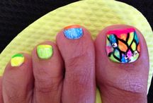 pedicure nail art & feet nails gallery / pedicure nail art designs and feet nails gallery by Nded.com