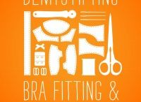 Sewing a Bra / Ideas and information about fitting and sewing a bra