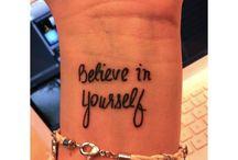 Tattoos that I like!