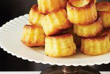 Pâtisseries. / Everything sweet.