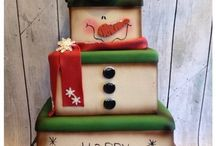Christmas cakes / by Sarah Therien