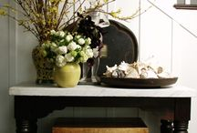 Entrance way / This is a how to for front porch and foyer
