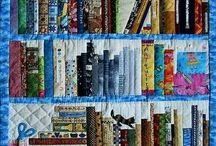 library book quilt