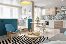 Retro style / trend for in the interior design.