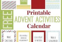 Advent stuff / by Renee Campanello