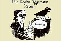 Ravens and Crows / I have an affinity for these dark, mysterious, beautiful birds. They are perhaps my totem animal as they seem to follow me. Other people have noticed, as well.