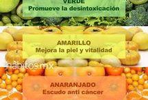 colores de los alimentos