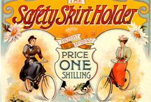Bicycle posters and pitcures.
