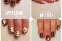 Nails, hair and make-up!
