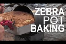 Billy Can Baking / Use your billy can to bake horizontally in the outdoors!!