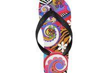 Flip Flop Sandals Printed / Flip Flop Sandals Printed by Juleez with colorful artwork