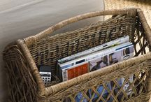 storage and  baskets...