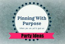 Parties (PWP) / Need some party ideas - you've come to the right place!
