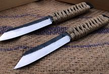 GM Bladesmith Forge / Higo Aisi:52100 These are traditionally forged.