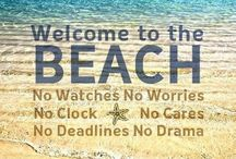 Be positive / Beach and the sea