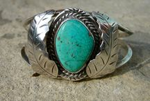 Semi precious stones and silver jewelry