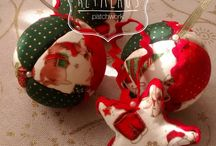 Christmas Gallery -  Available / #christmas balls and other #patchwork