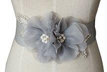 wedding dress sash belt