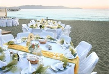 Weddings in Chania / Decoration tips from Greece weddings in Crete.