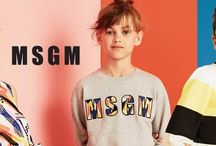 MSGM KIDS SS16 / This collection is full of fresh, brightly coloured styles with a hint of youthful attitude and carefree sophistication for both girls and boys.