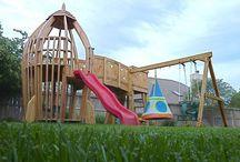 playground and backyard ideas