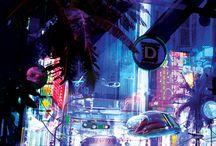 Paisajes Cyberpunk