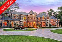 Sleepy Oaks Chateau - Houston, Texas / Luxury Absolute Auction - Houston, TX - June 25th