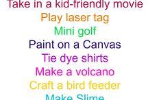 Ideas for kidz