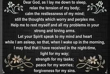 Night time prayers