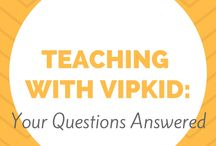 Teaching with VIPKID / Learn what being an ESL Teacher with VIPKID is all about! Classroom props, reward systems, what the interview process is really like, and more!