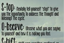 Banish Negative Self Talk / Inspiration