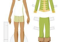 Obliekanie bábik