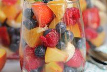 {Healthy} Fruit salad I like