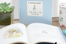 Beatrix Potter Books / Relive the magic of your favourite Beatrix Potter characters with our brand new collection of Personalised Beatrix Potter Books! Peter Rabbit, Squirrel Nutkin and many more, these books are completely personalised for the individual, making them a truly on of a kind personalised gift.