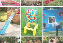Backyard fun games