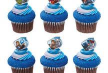 Superhero Cupcake Rings / Shop for your favorite superhero cupcake rings on our website SimplySuperheroes.com / by SimplySuperheroes.com