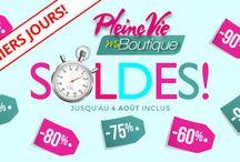 Votre shopping avec Pleine Vie / Profitez du meilleur de la boutique Pleine Vie !