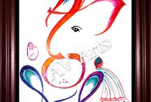 Holi Special / Here we present designs of colourfull bappa at the occasion of Holi. So happy holi to all of u....:)