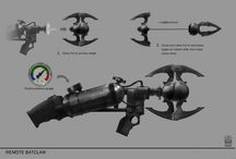 Concept Art Weapons