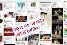 "Getting rid of ""Pins picked for you on Pinterest"" / SOOOOOO annoying.... / by Jaida Grove"