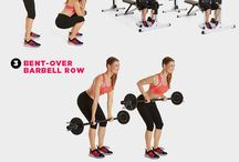 Weight training exercises