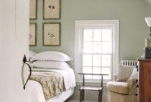 interior design / bedroom colours