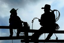 Cowboys & Cowgirl shadows